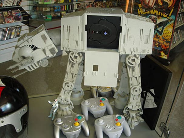 AT-AT Gamecube mod now for sale, fanboys swarm