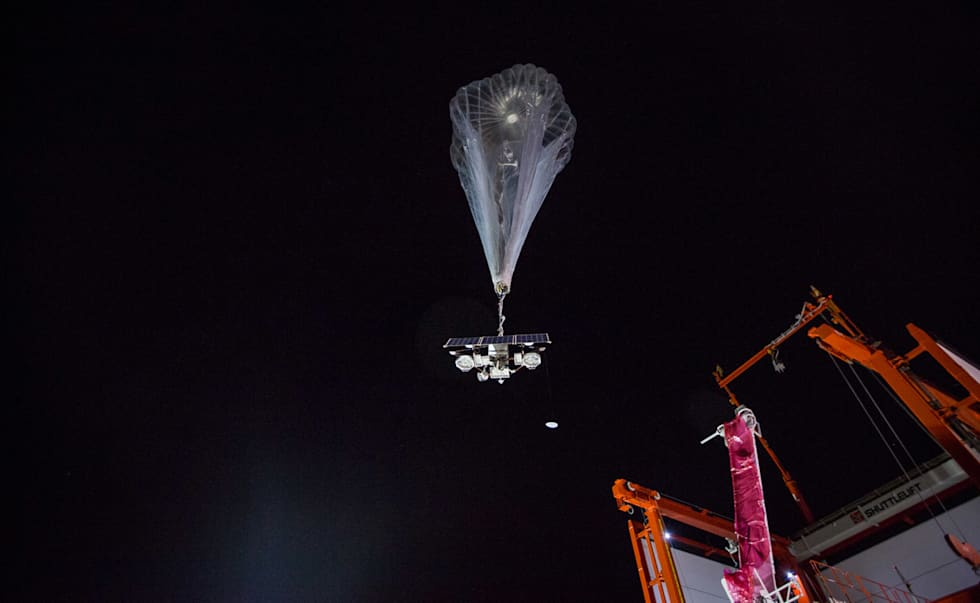 Project Loon shows off autolauncher at work in Puerto Rico