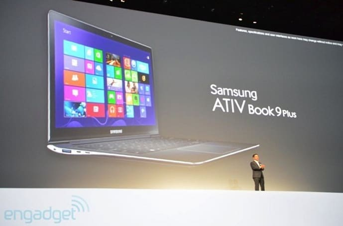 Samsung intros ATIV Book 9 Plus flagship Ultrabook, ATIV Book 9 Lite