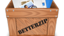 BetterZip Quick Look Generator shows contents of archive files