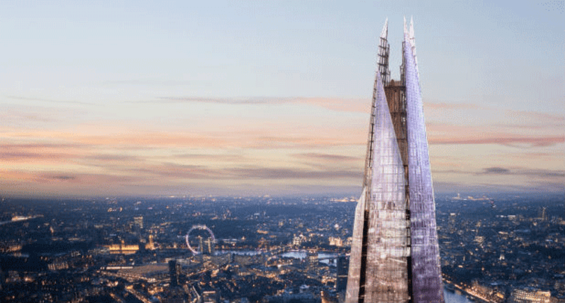 Vodafone brings fiber optics to the Shard, gives you signal high above London
