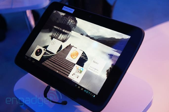Intel demos Lenovo-made Medfield IdeaPad K2110 tablet running Ice Cream Sandwich (eyes-on)
