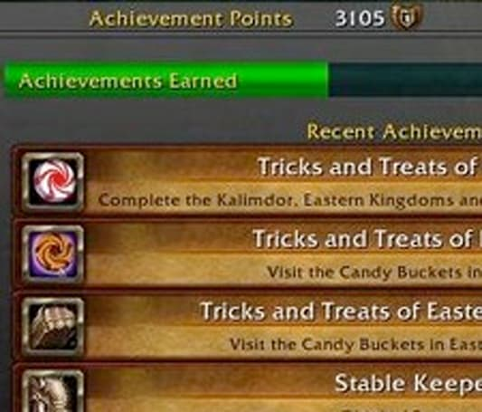 WoW-Achievements.com starts tracking achievements as best they can