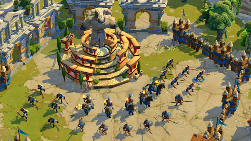 Age of Empires Online hits Steam