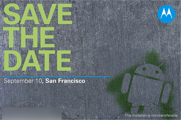 Motorola holding Android event on September 10, awesome new handsets in store?