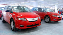 BYD e6 all-electric taxis, Premier sedan launch in Hong Kong