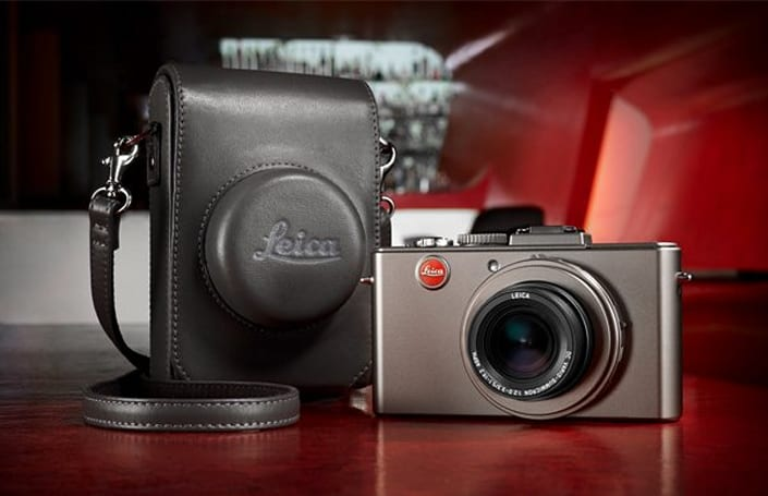 The Leica D-Lux 5 Titanium: for people who prefer it pointed at them