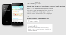 8GB Nexus 4 is sold out at Google Play and it won't be coming back, new Nexus handset on the way?