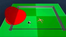 Google DeepMind 已經能讓虛擬螞蟻踢足球了
