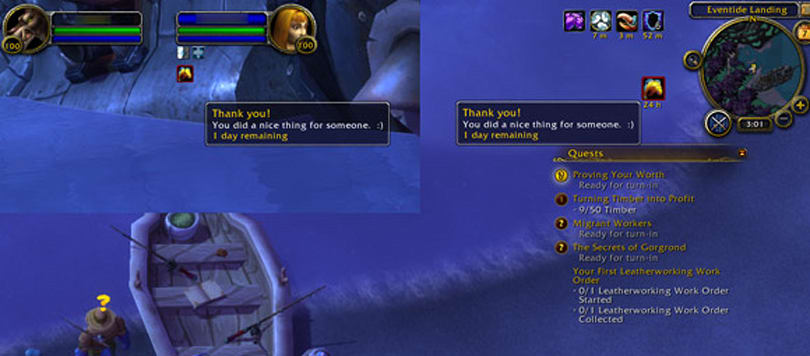 Warlords of Draenor introduces social fish