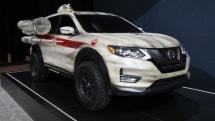 日産、ドロイド搭載のX-Wing仕様車を公開。スター・ウォーズ『ローグ・ワン』とSUV『ローグ』でコラボ