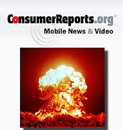 Consumer Reports app 'not recommended'