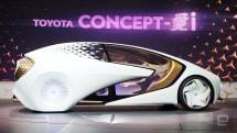 トヨタ、未来に突き抜けたクルマ「Concept-愛i」をCESで公開。嗜好に合わせた会話や自動危機回避機能など搭載