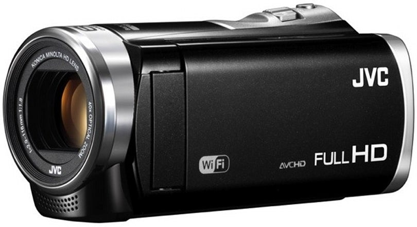 JVC launches five Everio camcorders in Japan, two with Android remote control
