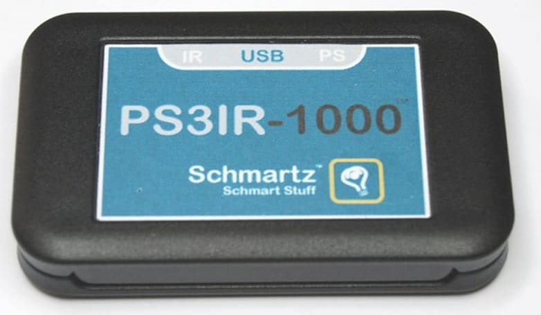 Schmartz PS3 IR-to-Bluetooth adapter adds PC control