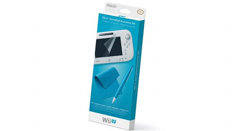 Nintendo introduces a fountain pen for your Wii U GamePad, as well as a screen jacket