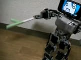 Robot with iPhone 3GS head reminds us of a cuter, more magnanimous Steve Jobs
