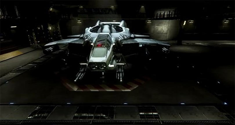 Cloud Imperium unveils Star Citizen hangar module