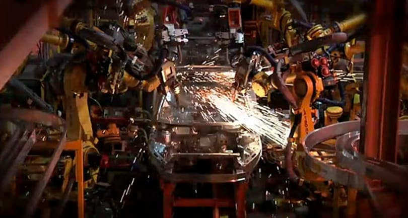 2011 Chevrolet Volt: constructed from start to finish in two mind-melting minutes (video)