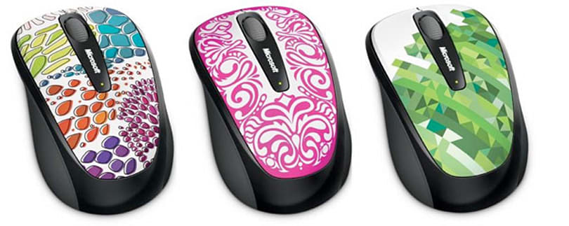Microsoft throws a helping of vivacious onto Wireless Mobile Mouse 3500 line