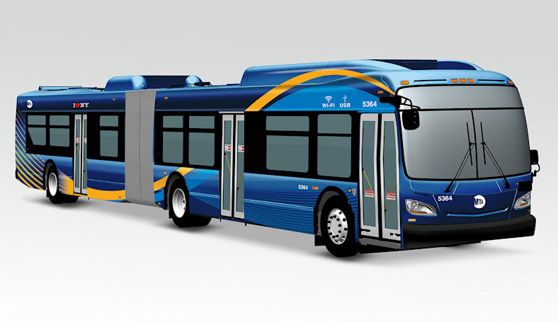 NYC's WiFi-equipped buses will debut in Queens this year