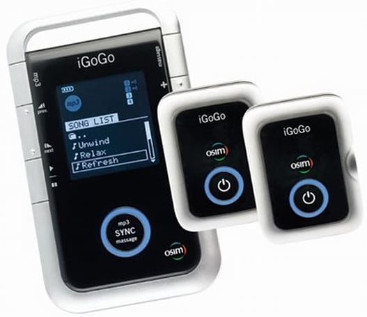 OSIM's iGoGo MP3 player / personal massager reviewed