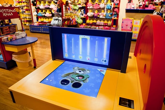 Build-a-bear's new store concept wants you to choose, love, stuff and fluff with high-tech (video)