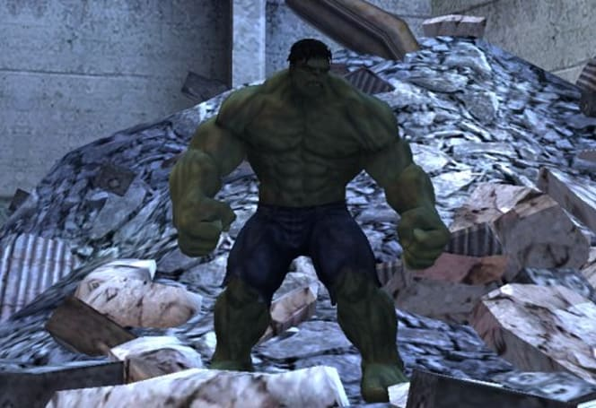First screens of 'The Incredible Hulk' on Wii