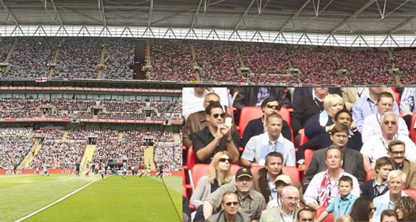 20 gigapixel, 360-degree panorama of Wembley Stadium is among world's largest, most detailed