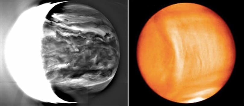 Venus probe's first detailed results reveal strange clouds