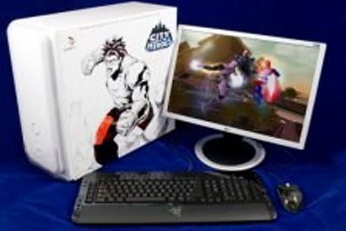 Win a hand-painted PC from City of Heroes and the Daily Mirror