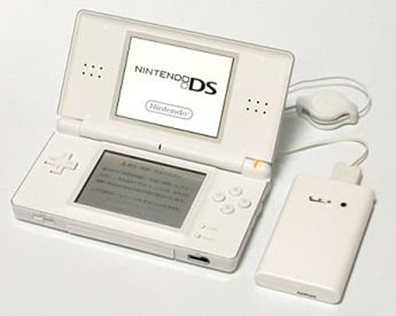 """Mobile Battery Slim"" DS Lite battery charger"
