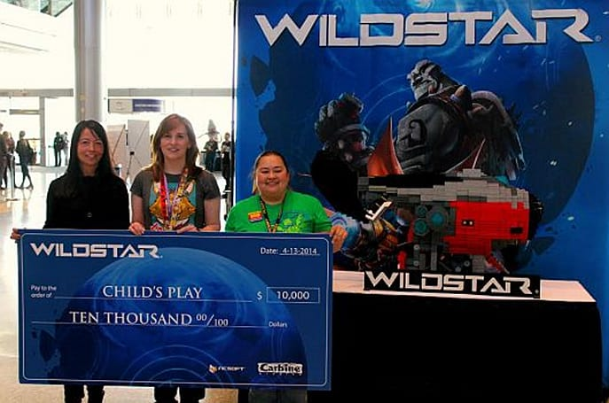 WildStar dev donates LEGO sculpture to Child's Play charity