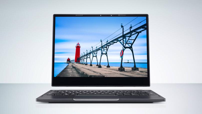 戴尔的 Latitude 7285 二合一式复合笔记本可选购无线充电底座