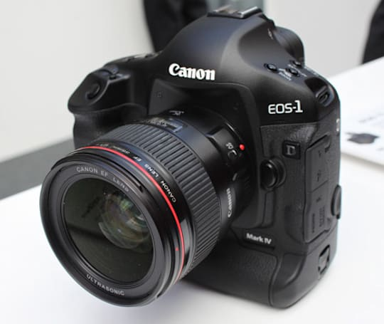 Canon EOS-1D Mark IV lands for a pre-production hands-on