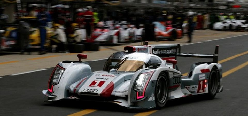 audi 39 s e tron becomes the first hybrid to win le mans saves the planet at the same time. Black Bedroom Furniture Sets. Home Design Ideas
