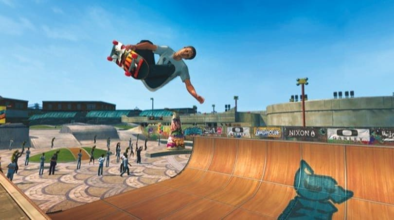 Tony Hawk bribing Xbox Live's 'Ride' players with friendship