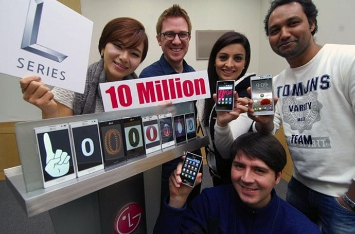 LG sells 10 million Optimus L-Series phones, stays semi-humble with success