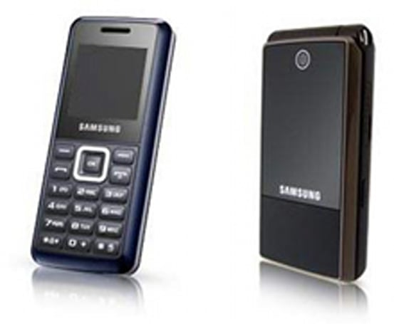 Samsung offers up simplistic E1110 / E2510 handsets