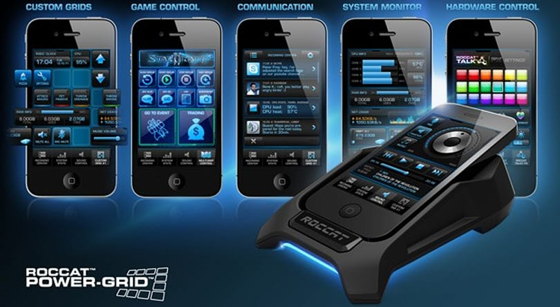 ROCCAT's Power-Grid enters open beta, turns phones into PC control centers (video)
