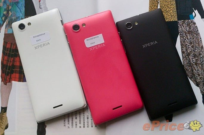 Sony Xperia J possibly spotted, may court entry-level fashionistas