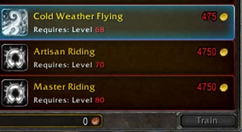 Cataclysm Beta: Cold Weather Flying at 68