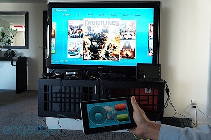 PlayCast cloud gaming service is coming to the US in 2013, we go hands-on a bit early