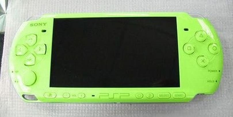 Lime green PSP in the works?