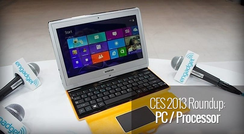 CES 2013: PC and processor roundup