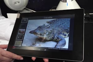 Fujitsu Haptic Sensor Tablet Hands-On
