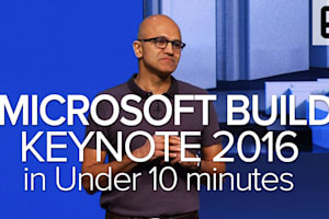Microsoft Build 2016 Keynote in Under 10 Minutes