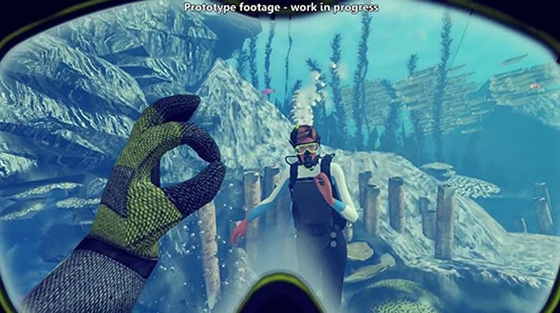 Explore the sea with friends in Oculus Rift-enabled World of Diving