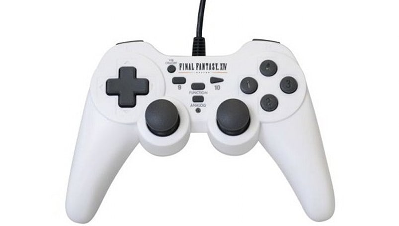 Final Fantasy XIV PC controller debuts in dazzling white