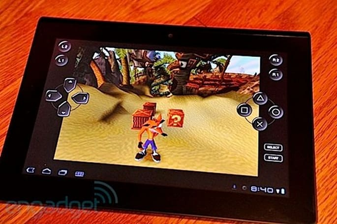 Sony's Tablet S adds DualShock 3 support in Japan